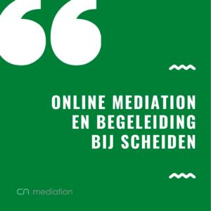 online mediation bij scheiden
